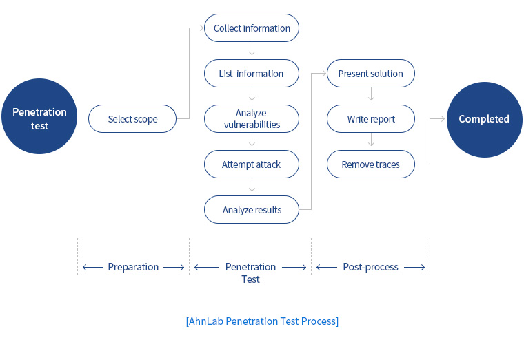 AhnLab Penetration Test Process